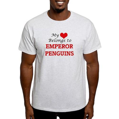 My heart belongs to Emperor Penguins T-Shirt