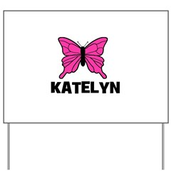 Butterfly - Katelyn Yard Sign