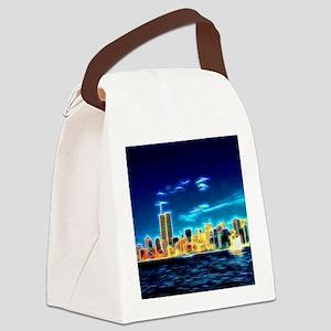 Manhattan Skyline, New York, USA Canvas Lunch Bag