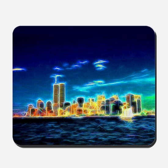 Manhattan Skyline, New York, USA Mousepad