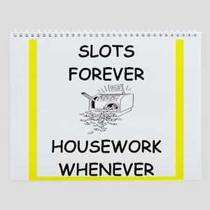 Women's Slots Player Wall Calendar