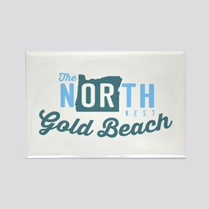 Gold Beach - Oregon. Rectangle Magnet Magnets