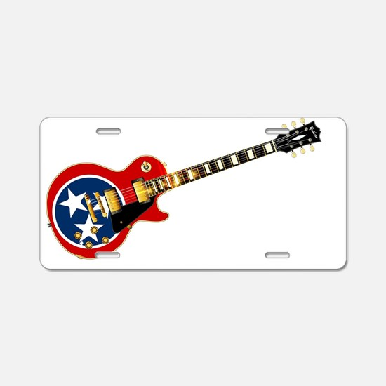 Unique Gibson Aluminum License Plate