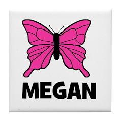 Butterfly - Megan Tile Coaster