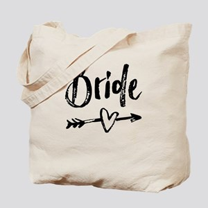 Bride Gifts Script Tote Bag