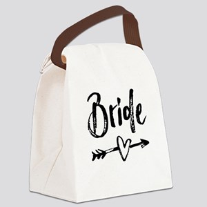 Bride Gifts Script Canvas Lunch Bag