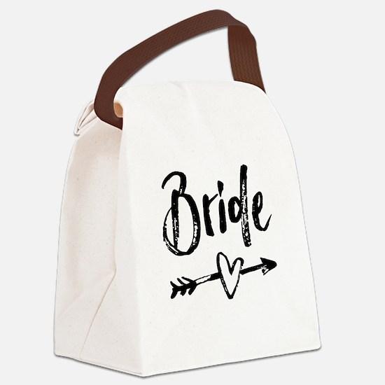 Bride Gifts Script Canvas Lunch Bag