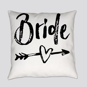 Bride Gifts Script Everyday Pillow