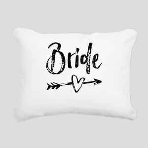 Bride Gifts Script Rectangular Canvas Pillow