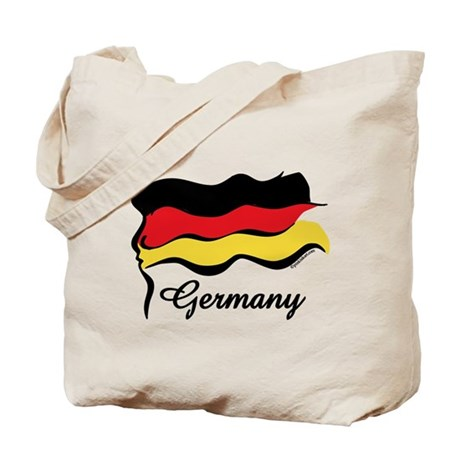 Funky German Flag Tote Bag
