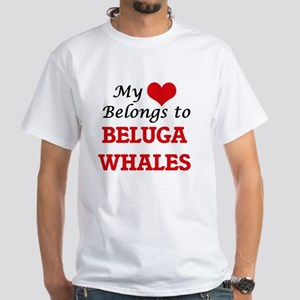 My heart belongs to Beluga Whales T-Shirt