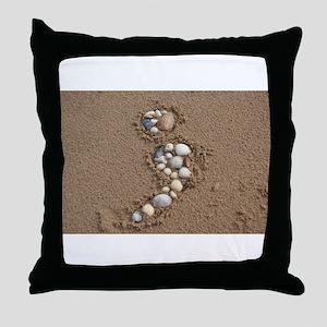 semi-colon Throw Pillow
