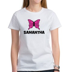 Butterfly - Samantha Women's T-Shirt