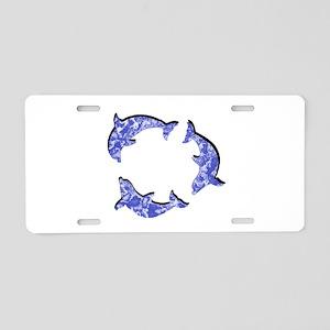 POD Aluminum License Plate