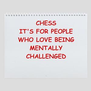 Chess Player Wall Calendar