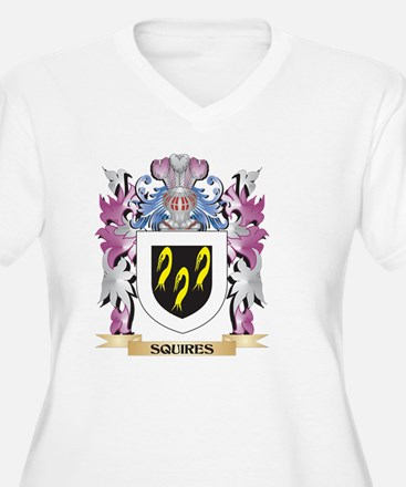 Squires Coat of Arms - Family Cr Plus Size T-Shirt