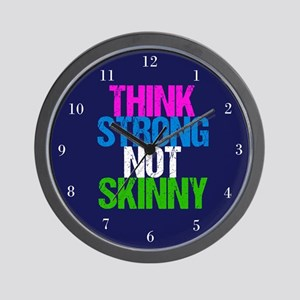 Strong Not Skinny Wall Clock