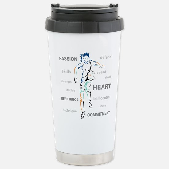 What is Soccer? Travel Mug