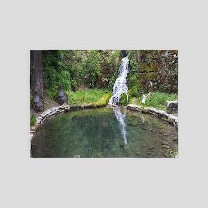 Hiidden Waterfall 5'x7'Area Rug