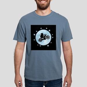 santa-moon-bike-BU T-Shirt