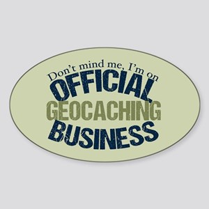 Geocaching Sticker (Oval)