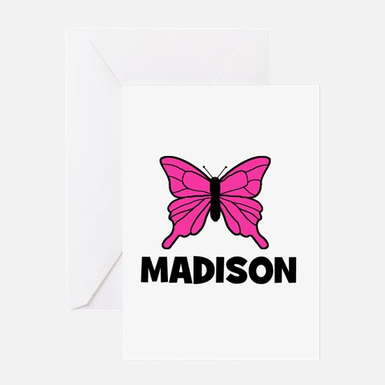 Butterfly - Madison Greeting Card