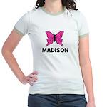 Butterfly - Madison Jr. Ringer T-Shirt