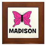 Butterfly - Madison Framed Tile