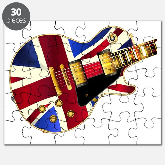 Cute British union jack Puzzle
