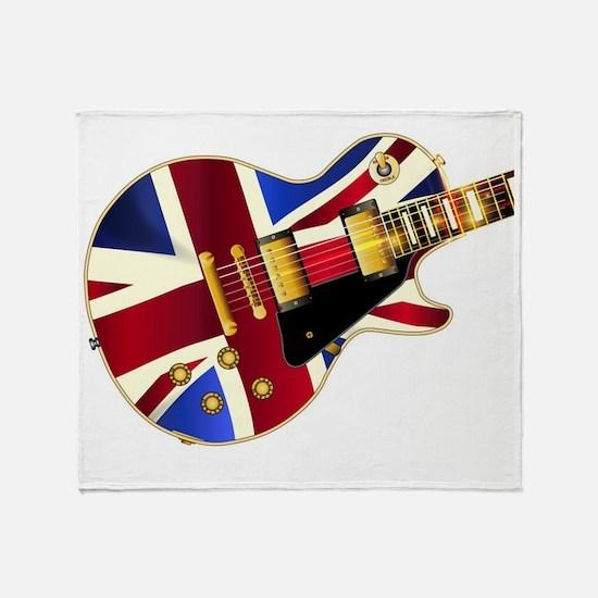 Gibson guitar Throw Blanket