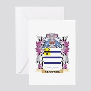 Stanford Coat of Arms - Family Cres Greeting Cards