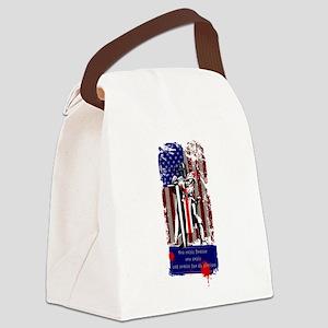American Knights Templar Canvas Lunch Bag