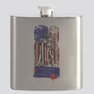 American Knights Templar Flask