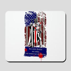 American Knights Templar Mousepad