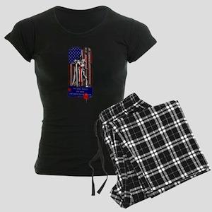 American Knights Templar Women's Dark Pajamas