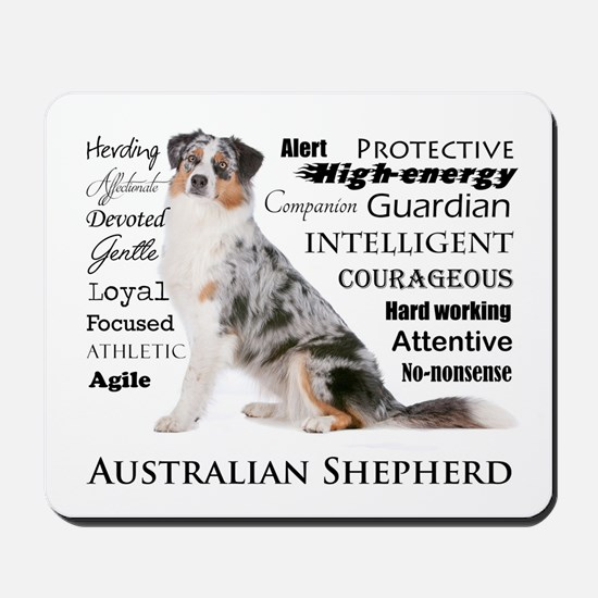 Aussie Traits Mousepad