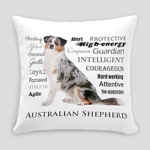 Aussie Traits Everyday Pillow