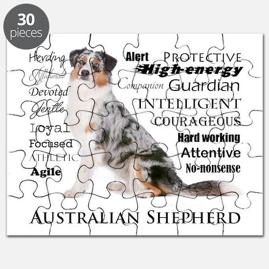 Aussie Traits Puzzle