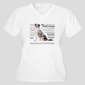 Aussie Traits Plus Size T-Shirt