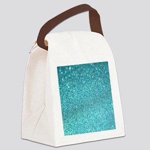 Glitter Sparkley Luxury Canvas Lunch Bag