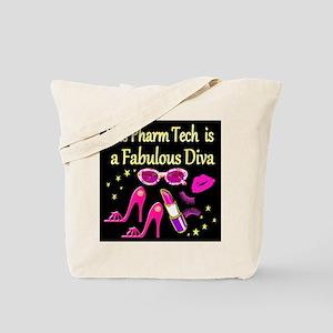 PHARM TECH DIVA Tote Bag