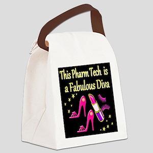 PHARM TECH DIVA Canvas Lunch Bag