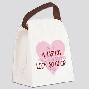 Look so Good Canvas Lunch Bag
