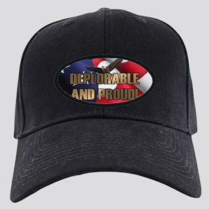 DEPLORABLE AND PROUD Black Cap