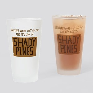 Shady Pines Drinking Glass
