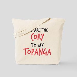 Cory to my Topanga Tote Bag