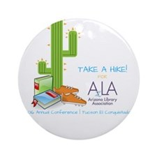 AzLA Conference Hike Round Ornament
