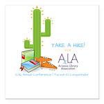AzLA Conference Hike Square Car Magnet 3