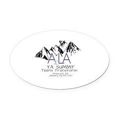 YA Summit 2017 Oval Car Magnet