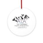 YA Summit 2017 Round Ornament